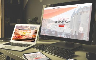 Site web Restaurant Le Créneau